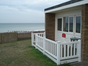 Recently refurbished Chalets with Sea Views